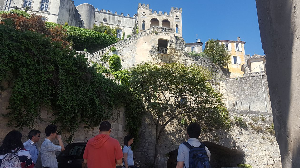 Bourg gironde Chinese travel agents