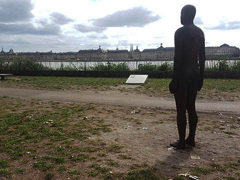 Meeting the Naked men of Bordeaux - By Anthony Gormley
