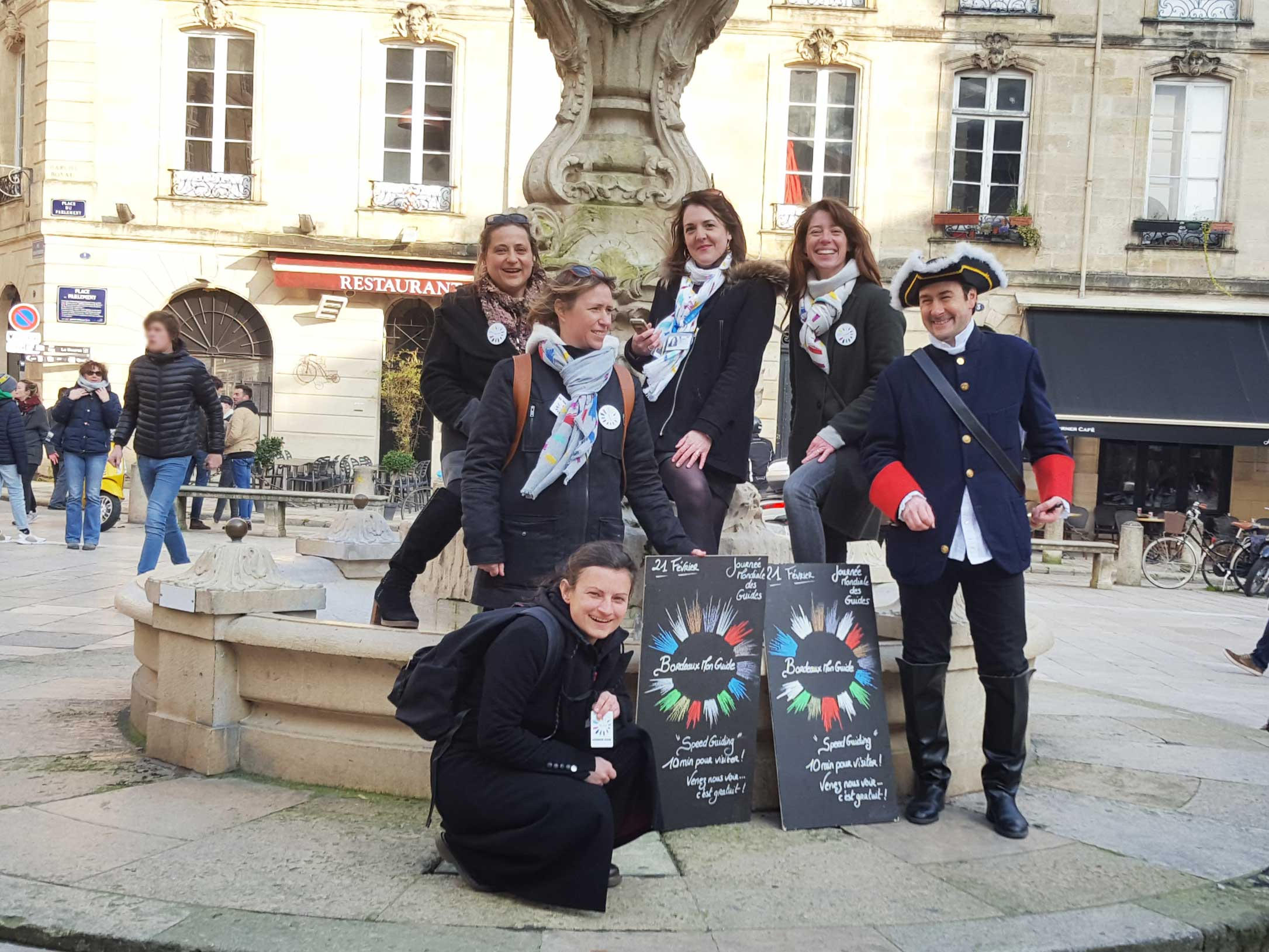 2018 02 21 International guides day Bordeaux