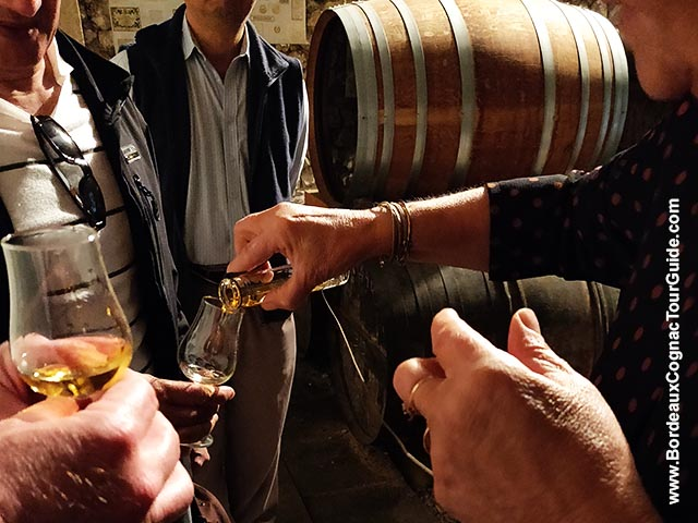 Have you already tasted Cognac from the barrel?