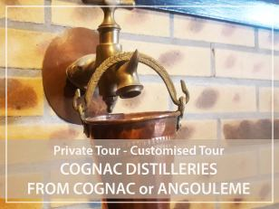 Private Tour : Cognac distilleries from Angoulême or Cognac