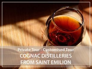 Private Tour : Cognac distilleries from Saint Emilion