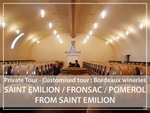 Private Tour : Saint-Emilion village and wineries