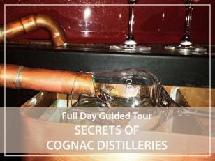 Full day guided tour : Cognac distilleries